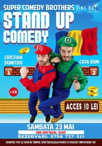 stand-up comedy romania
